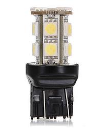 Светодиодная лампа LED T20 W21 / 5 Вт 7443 13 СМД DC12V 5050 из светодиодов ЦВЕТ  / красный /