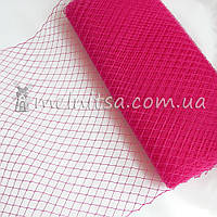 Вуаль шляпная, ярко-розовый (50 см)