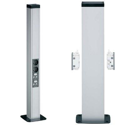 Мини-колонна одинарная DA 200-80, профиль 68x98мм, высота 650мм, ELN