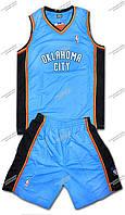 """Баскетбольная форма """"OKLAHOMA CITY"""" взрослая"""