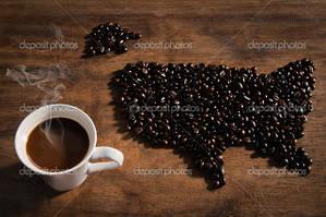 Кофе, Горячий шоколад из США