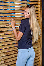 Рубашка с коротким рукавом | Classic однотонная sk, фото 2