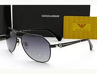 Мужские солнцезащитные очки Armani 10009 S серый цвет