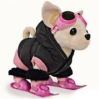Мягкая игрушка Chi Chi Love Собачка Зимний отдых Chi-Chi Love Simba