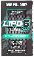 Lipo-6 Black Hers Ultra concentrate Nutrex, 60 капсул