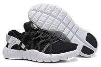 """Кроссовки Nike Huarache NM """"Black/White/Grey"""", фото 1"""