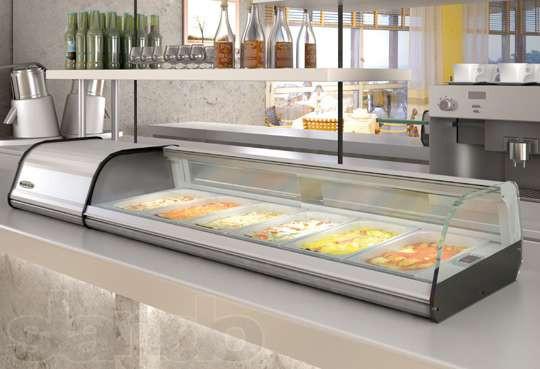 Холодильні вітрини для топінгу
