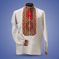 Оригинальная вышитая мужская сорочка
