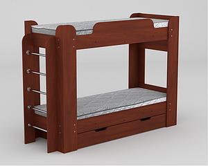 Двухъярусная кровать Твикс ДСП Компанит