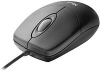 Мышка TRUST Optical Mouse Black USB