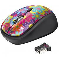 Мышка TRUST Yvi Wireless Mouse flower power