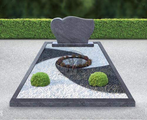 Природный камень для украшения могилок