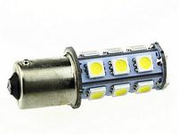 Светодиодная лампа T11 1156 BA15S 18 SMD 5050 LED (красный)