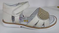 Детские кожаные босоножки ОРТОПЕД для девочек детская летняя обувь  Том.М. 25 26 29