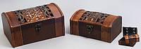 Сундучки  деревянные набор