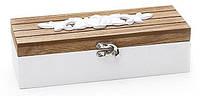 Шкатулка для рукоделия деревянная