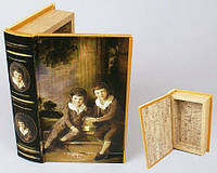 Шкатулка книга дерево