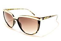 Женские солнцезащитные очки Gucci LG071 C3 SM 02446, стильные бабочки в комбинированной оправе в интернете