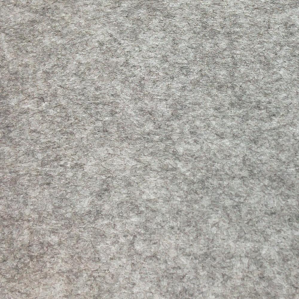 Фетр среднежесткий 1.9 мм, полиэстер, СЕРЫЙ МЕЛАНЖ, 1 х 1 м, на метраж