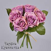 Букет роз фиолетовый