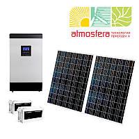 Автономная солнечная электростанция 0,4 кВт