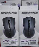 Мышка компьютерная, проводная Zornwee (черная)