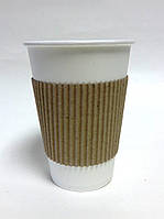 Термочехол клееный для стакана 250-340 мл (1000шт/ящ.)