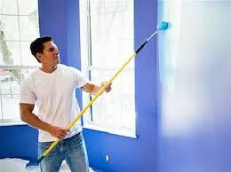 Окраска стен в подсобных помещениях