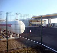 Забор секционный ЭКО 3D (панель) 930х2500 мм  диаметр 3/3 мм