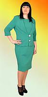 Классическое платье и пиджак