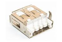 Разъем USB 2.0 A02/2 single (13х5х14мм)