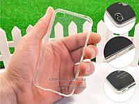 Ультратонкий 0,3мм силиконовый чехол для Apple iPhone 4 / 4S