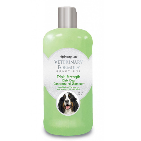 Veterinary Formula ТРОЙНАЯ СИЛА Triple Strength Dog Shampoo шампунь для собак и кошек