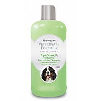 Veterinary Formula ТРОЙНАЯ СИЛА Triple Strength Dog Shampoo шампунь для собак и кошек
