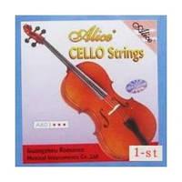 """Alice A803 -1 первая струна """"A"""" для виолончели, никель  серебро"""