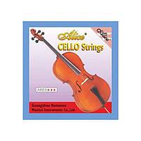 """Alice A803 -4 четвёртая струна """"C"""" для виолончели, никель с серебром"""