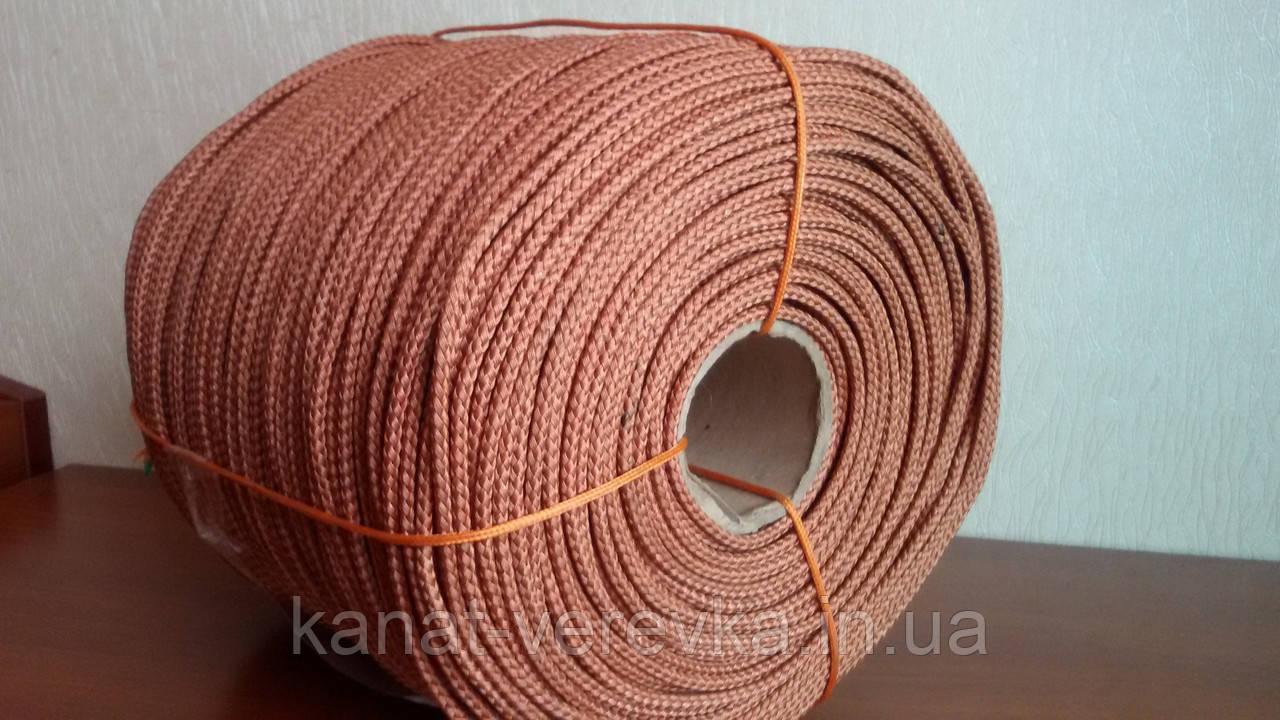 Шнур 6 мм плетенный кордовый
