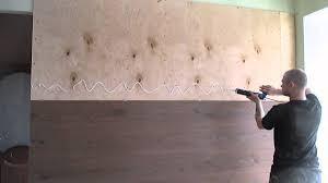 Поклейка ламината на стены