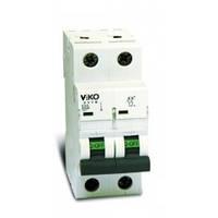 Автоматический выключатель Viko двухполюсный 6А 4VTB-2C06