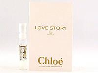 Chloe Love Story - Парфюмированная вода (Оригинал) 1,2ml (пробник)