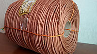Шнур 6 мм - 200 м. Веревка плетеная кордовая