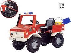 Пожарная Машина Педальная Unimog Rolly Toys 036639, фото 3