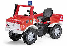 Пожарная Машина Педальная Unimog Rolly Toys 036639