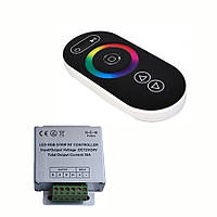 RGB Контроллер с радиоуправлением 18А (сенсорный пульт)