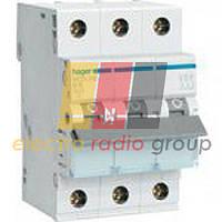 Автоматичний вимикач In=25A, 3п, С, 6 ka, 3м