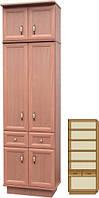 Шкаф в прихожую закрытый двухдверный серия Венеция