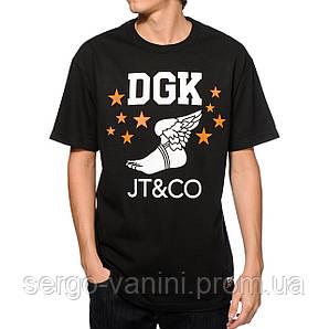 Футболка мужская стильная DGK x JT & CO Timeless