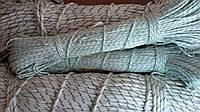 Веревка 3 мм - 100 м, шнур капроновый (полиамидный)