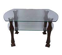 Стеклянный журнальный столик Грация ДС- 5