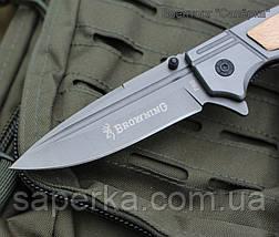 Нож полуавтоматический Browning F80 (Браунинг), фото 3